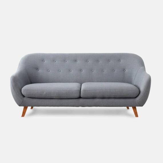 Sofa Escandinavo curvo